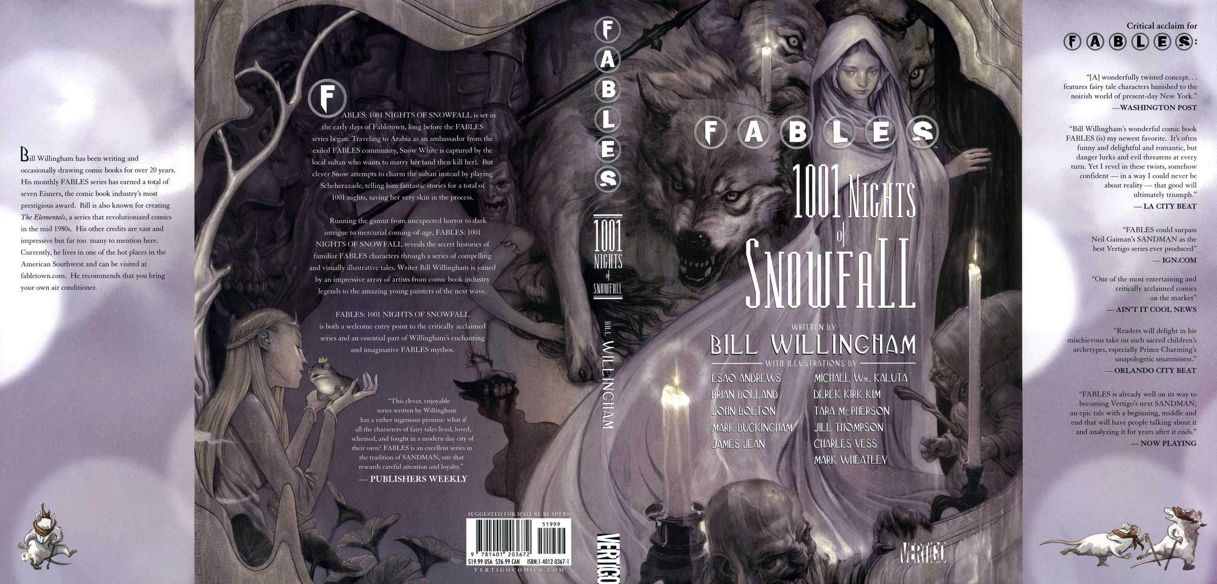 Fables - 1001 Nights of SnowFall