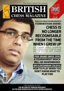 British Chess Magazine - November 2019