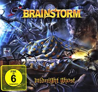 Brainstorm - Midnight Ghost (2018) [Limited Ed.] CD+DVD