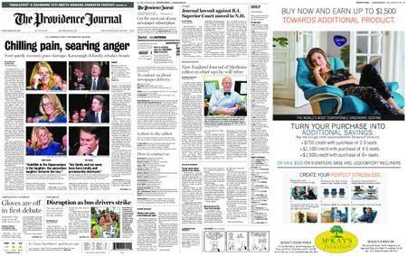 The Providence Journal – September 28, 2018