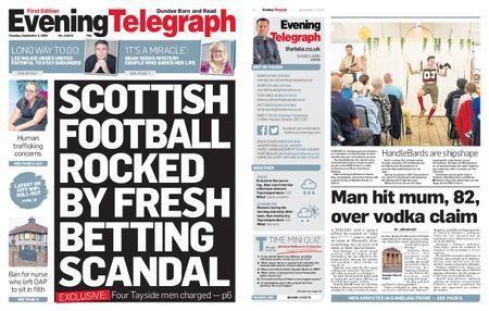 Evening Telegraph First Edition – September 03, 2019