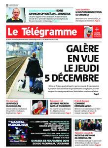 Le Télégramme Auray – 22 novembre 2019