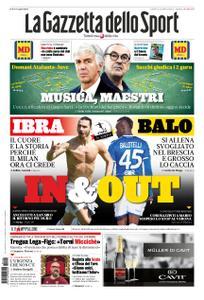 La Gazzetta dello Sport – 22 novembre 2019