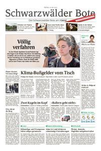 Schwarzwälder Bote Blumberg - 19. Juli 2019