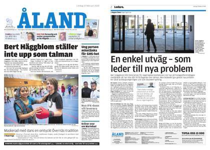 Ålandstidningen – 15 februari 2020