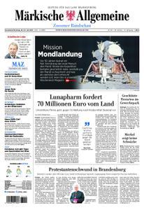 Märkische Allgemeine Zossener Rundschau - 20. Juli 2019