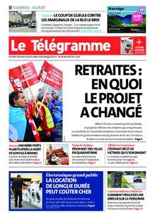 Le Télégramme Auray – 24 janvier 2020