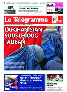 Le Télégramme Brest Abers Iroise – 16 août 2021