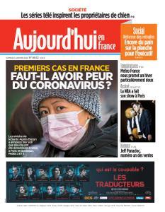 Aujourd'hui en France - 25 Janvier 2020