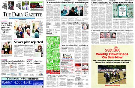 The Daily Gazette – April 19, 2018