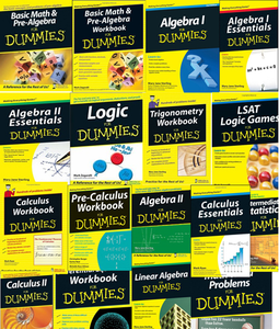 Math For Dummies collection [Repost]