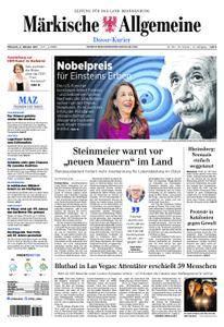 Märkische Allgemeine Dosse Kurier - 04. Oktober 2017