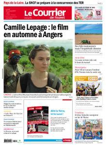 Le Courrier de l'Ouest Angers – 22 juillet 2019