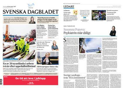 Svenska Dagbladet – 18 december 2017