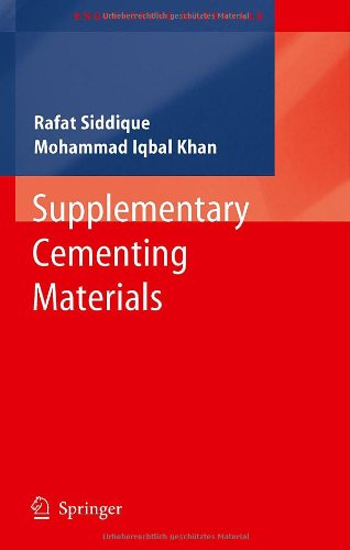 Supplementary Cementing Materials (Repost)