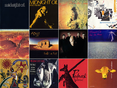 Midnight Oil - Complete Studio Albums 1978-2002 (11CD) [Re-Up]