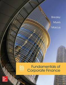 Fundamentals of Corporate Finance, 8th Edition