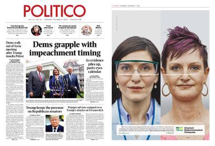 Politico – October 17, 2019