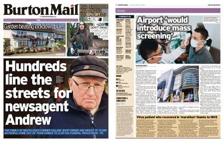 Burton Mail – April 28, 2020