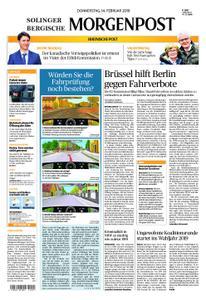 Solinger Morgenpost – 14. Februar 2019