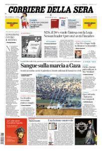 Corriere della Sera - 31 Marzo 2018
