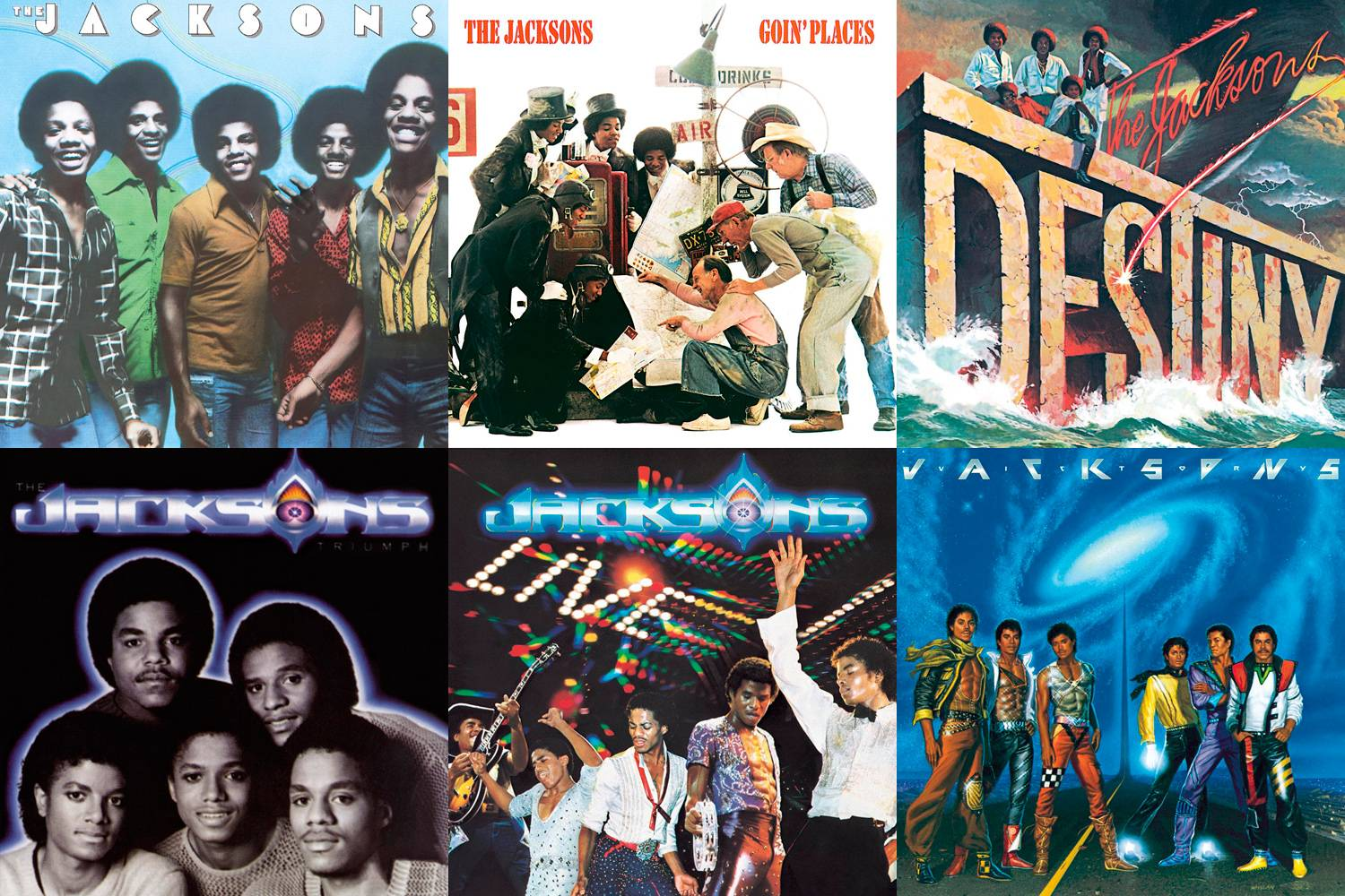 The Jacksons - The Hi-Res Album Collection (1976-1989/2016