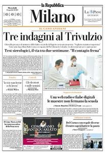 la Repubblica Milano - 8 Aprile 2020