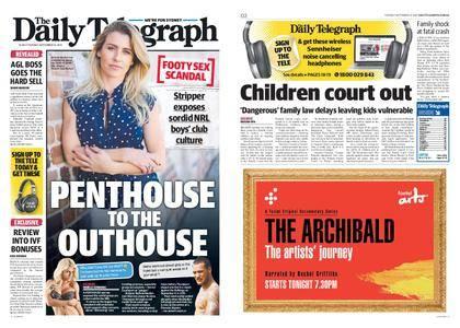 The Daily Telegraph (Sydney) – September 12, 2017