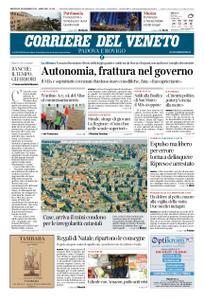 Corriere del Veneto Padova e Rovigo – 18 dicembre 2019