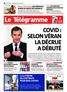 Le Télégramme Ouest Cornouaille – 20 avril 2021