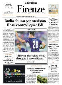 la Repubblica Firenze - 21 Agosto 2019