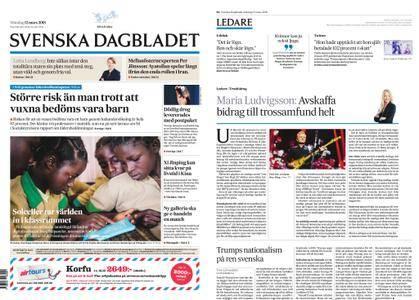 Svenska Dagbladet – 12 mars 2018