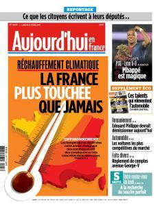 Aujourd'hui en France du Lundi 8 Octobre 2018