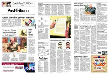 Post-Tribune – September 14, 2018