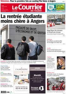 Le Courrier de l'Ouest Angers - 28 août 2018