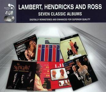 Lambert, Hendricks & Ross - Seven Classic Albums (1957-1962) [4CD, 2013]