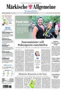 Märkische Allgemeine Westhavelländer - 13. August 2018