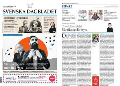Svenska Dagbladet – 30 september 2018