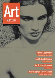 Art Monthly - February 2014   No 373