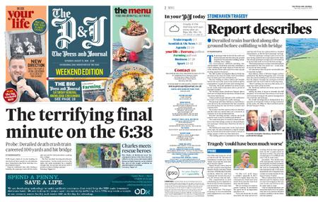 The Press and Journal Moray – August 15, 2020