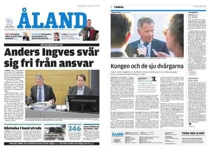 Ålandstidningen – 31 januari 2018