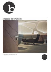 Building Innovations - December 2019