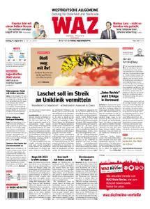 WAZ Westdeutsche Allgemeine Zeitung Oberhausen-Sterkrade - 14. August 2018