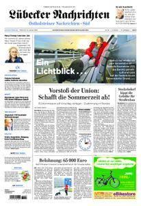 Lübecker Nachrichten Ostholstein Süd - 31. Januar 2018
