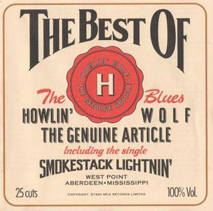 Howlin' Wolf - The Genuine Article: The Best Of Howlin' Wolf (1994)