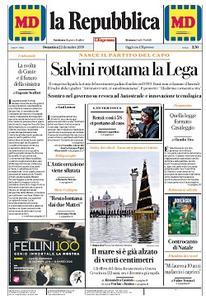 la Repubblica - 22 Dicembre 2019