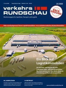 VerkehrsRundschau - 15. Juni 2020