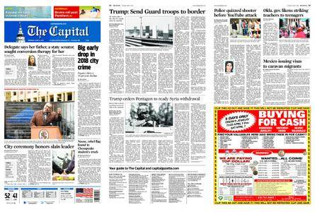The Capital – April 05, 2018