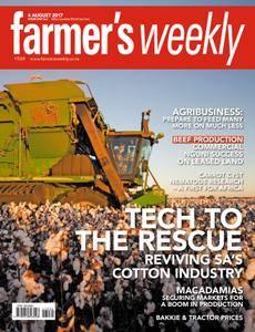 Farmer's Weekly - 04 August 2017