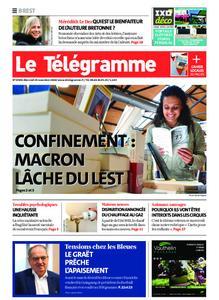 Le Télégramme Brest – 25 novembre 2020